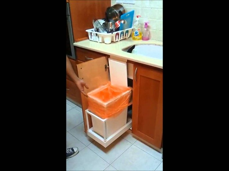 153 best images about ikea hacks on pinterest ikea hacks pen organizer and ikea hackers - Ikea cabinet trash pull out ...