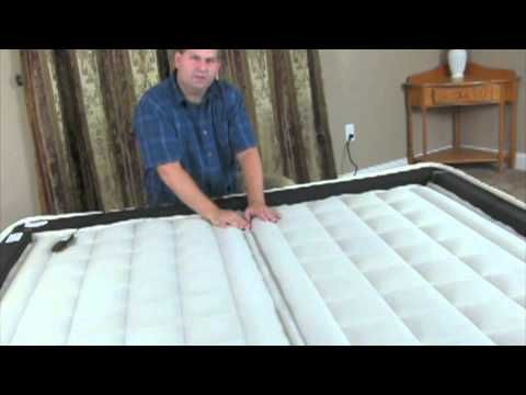Repair Bed Sagging and Rolling to the middle in dual adjustable air beds with Air Bed Parts from AIr Bed Pros. Nylon Reinforced Foam Support Rail System Locks air chambers together preventing gaps from forming in the middle of dual adjustable air beds.