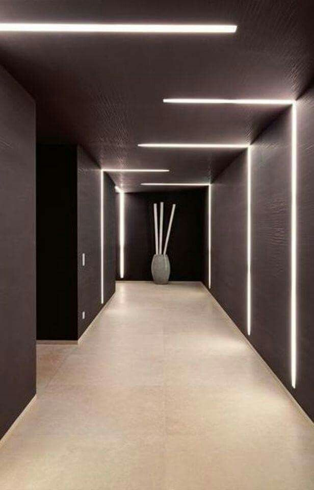 indirect lighting design. led lighting design inside the private house chameleon in mallorca indirect d