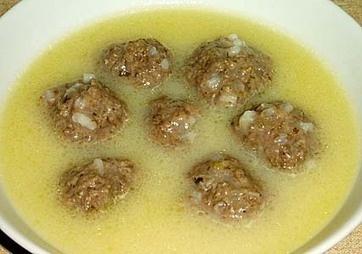 Γιουβαρλάκια σούπα - Σούπες, όσπρια, ρύζι - Συνταγές μαγειρικής