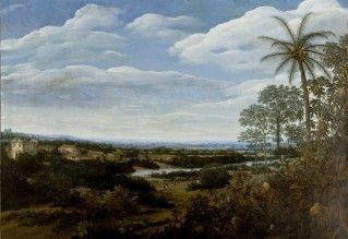 Paisagem com Jiboia, c. 1660 - Frans Post