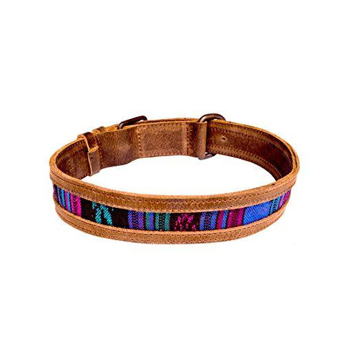 Hide & Drink Rustic Mayan Dog Collar, Tropical Blue   Check it out-->  http://mypets.us/product/hide-drink-rustic-mayan-dog-collar-tropical-blue/  #pet #food #bed #supplies
