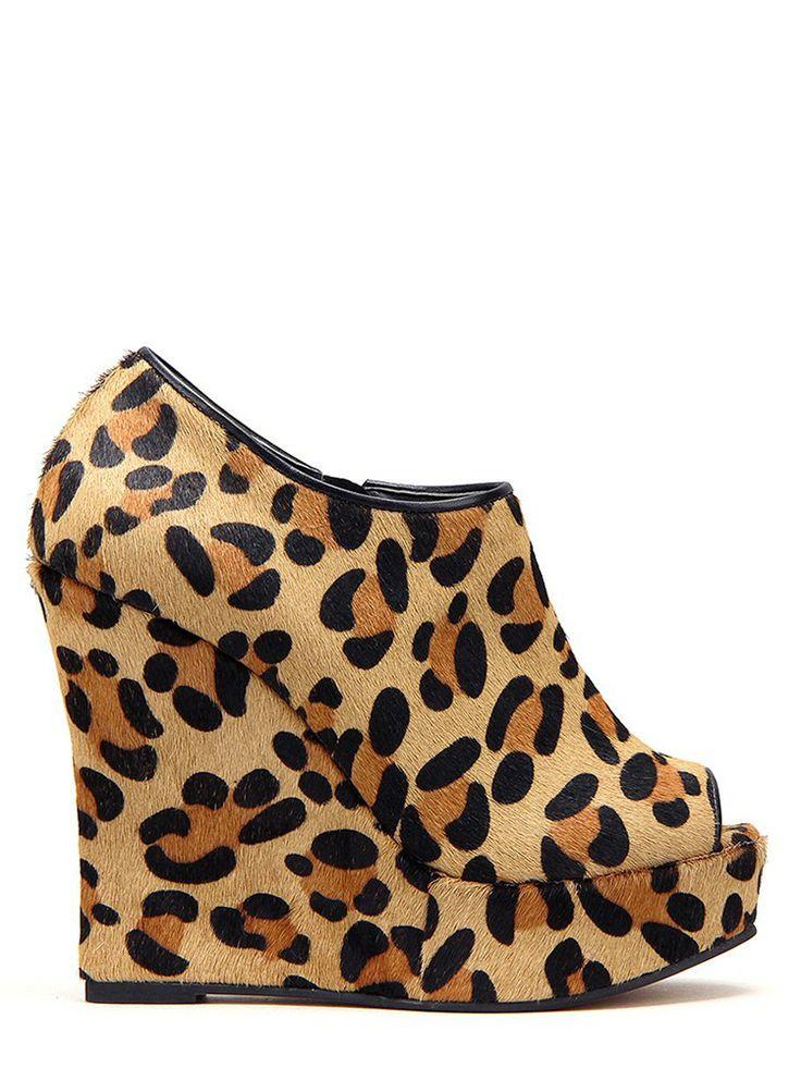 Measurement: 120mm heelFits true to sizeLeather sole, Covered heelLeather: Leopard calf...