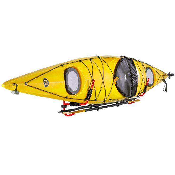 Apex Kayak Storage Rack with Paddle Hooks   Kayak storage ...