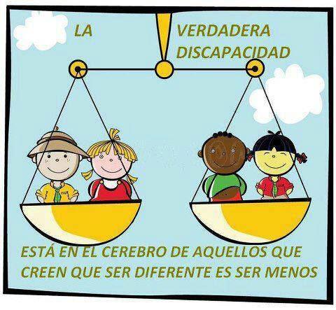 Tod@s tenemos algo que aprender, tod@s tenemos algo que aportar y enseñar. No nos privemos de aprender los unos de los otros... ¡En la diversidad reside la riqueza!