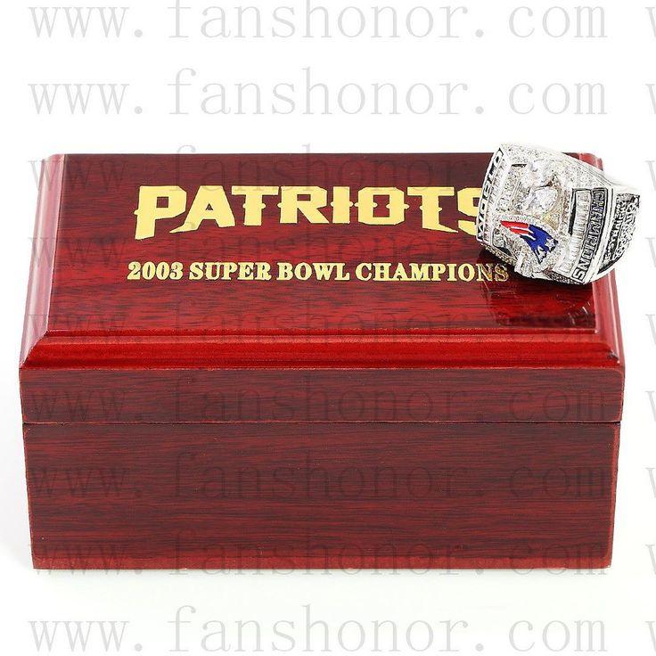 Custom NFL 2003 Super Bowl XXXVIII New England Patriots Championship Ring  Click Bio to Buy #patriotsnation #gopatriots #newenglandpatriots #patriots #patriotsfan #patriotsday #patriotspride #patriotswin #patriotsfootball #patriotsallday #patriotsfans #patriotsforlife #championshipring #superbowl #NFL #football #nflmemes #footballgame #nfldraft #superbowl50 #superbowl51 #nfl2016 #nflfootball