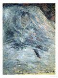 Claude Monet - Camille Monet on Her Deathbed, 1879 Digitálně vytištěná reprodukce