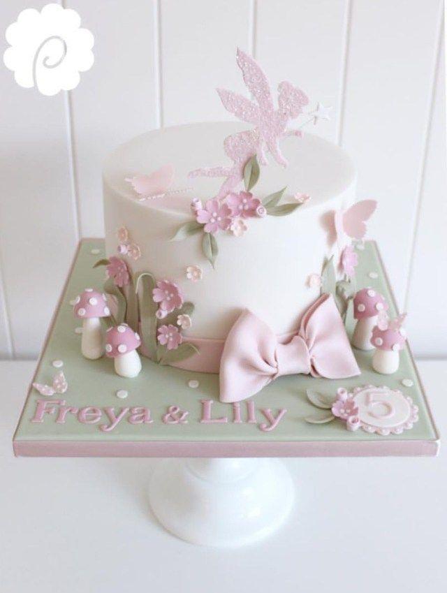 25+ kreative Foto von Fairy Birthday Cakes. Märchengeburtstagskuchen Märchengeburtst …   – birthday cake kids