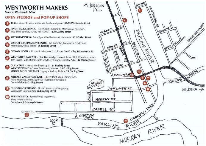 Wentworth Makers March Event
