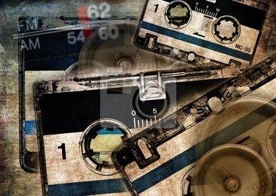 Grunge hudební pozadí na obrazech myloview. Nejlepší kvality plakáty, fototapety, myloview sbírky, nálepky, obrazy. Chcete si vyzdobit Váš domov? Pouze s myloview!