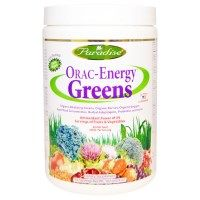 iHerb.com - カスタマーレビュー -Paradise Herbs, ORAC-Energy Greens, 6.4 oz (182 g)