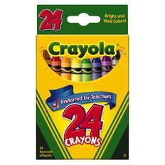 Crayola 24Ct Crayon Tuck Box