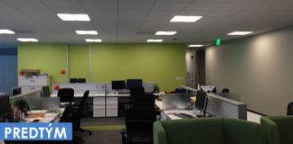 Pozrite, ako znudení zamestnanci oživili steny v práci