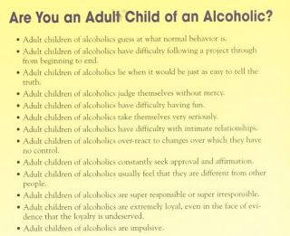 Dating adult child of alcoholic son mother
