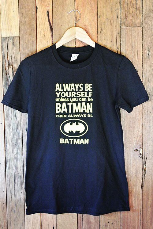 Mens T-Shirt Batman