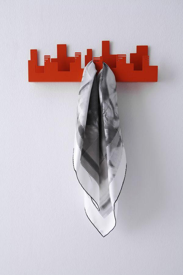 BELLEVILLE coat hanger by Frederic Gooris, via Behance