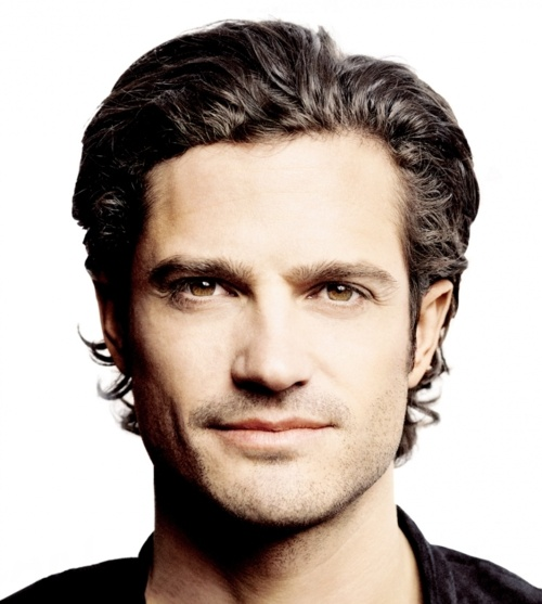 Prince Carl Philip of Sweden; 32, licensed racing car driver, a rugged Orlando Bloom lookalike . . .