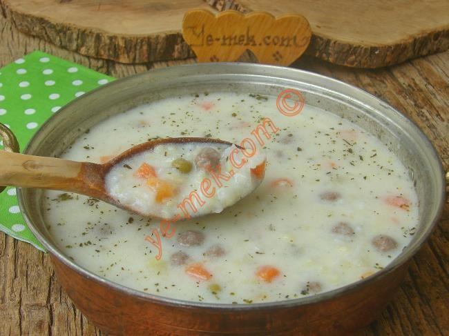 Valide Sultan Çorbası Resimli Tarifi - Yemek Tarifleri