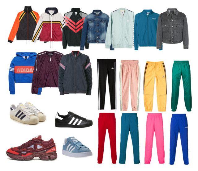 """1"" by pasanidi-konstantin on Polyvore featuring Gucci, adidas Originals, AMI, adidas, Saturdays, men's fashion и menswear"