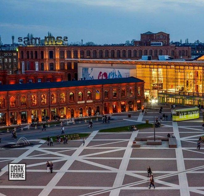 Manufaktura, Lodz Poland