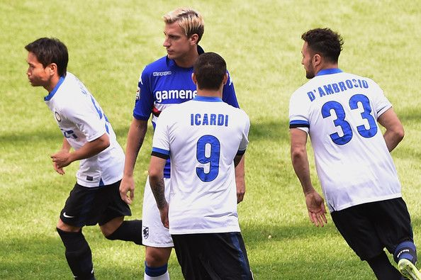 Maxi López snubs handshake with Mauro Icardi - ex-friend who stole his girlfriend