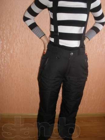 Горнолыжные брюки женские бу