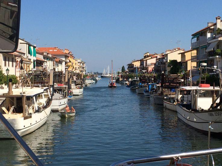 Italien-Grado-Hafen