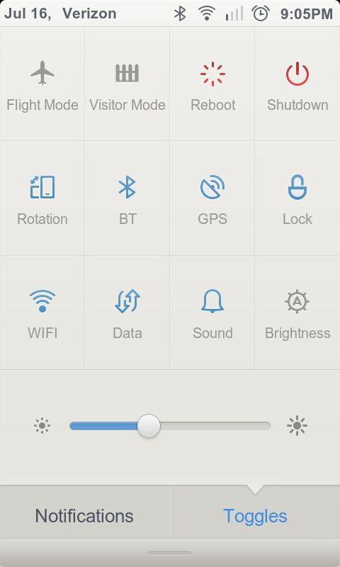 #UI #toggles #icons #minimal