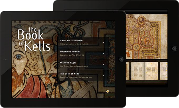 X Communications launches their first iPad app, The Book of Kells for iPad.