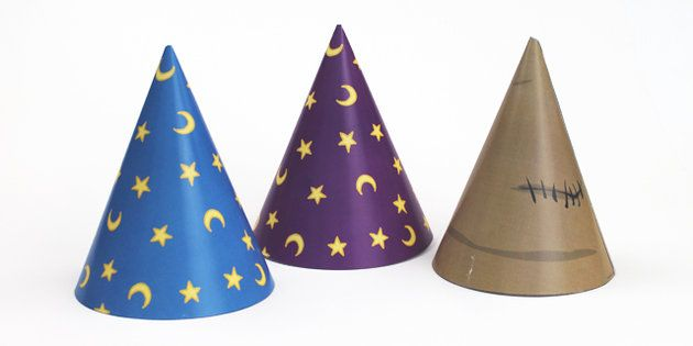 Magic Maths Area Wizard Hat Props