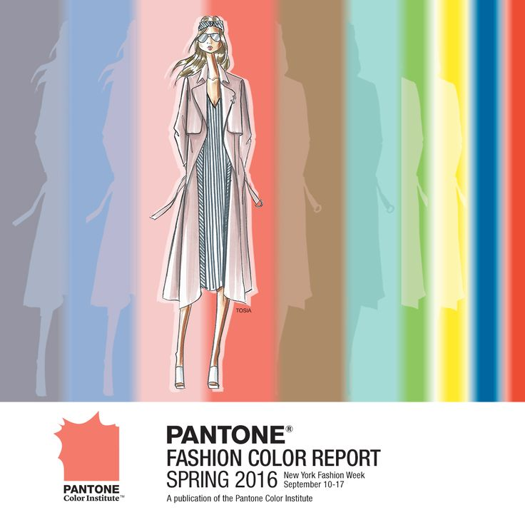 View PANTONE's Fashion Color Report! Top 10 Colors for Spring 2016 https://www.facebook.com/nyfw?fref=ts http://www.pantone.com/spring2016
