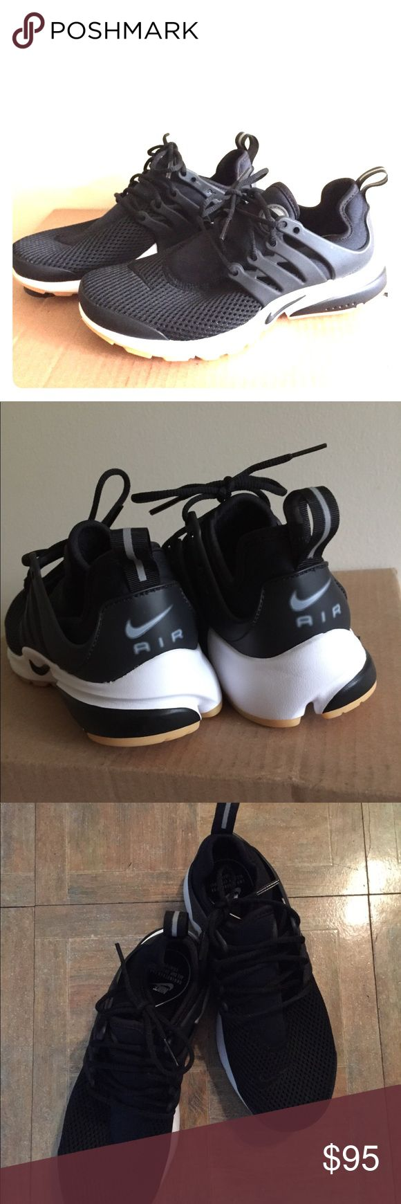 NEW Women's NIKE Air Presto Sneakers Never been worn!!! Black Women's Air Presto Sneakers. Size US 6. Super comfortable and light weight. Nike Shoes Athletic Shoes