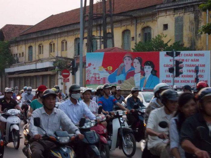 Tips for Crossing the Street in Hanoi Vietnam | Blogging From Paradise