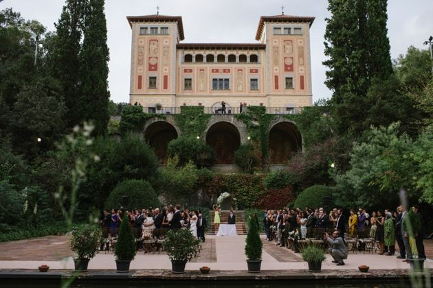 Bell Reco - a beautiful historic mansion wedding venue in Barcelona