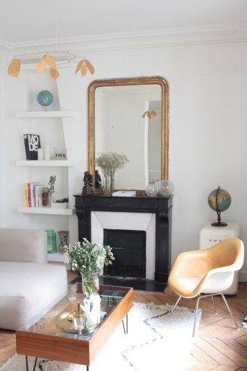 Les 25 meilleures idées de la catégorie Appartement parisien sur ...