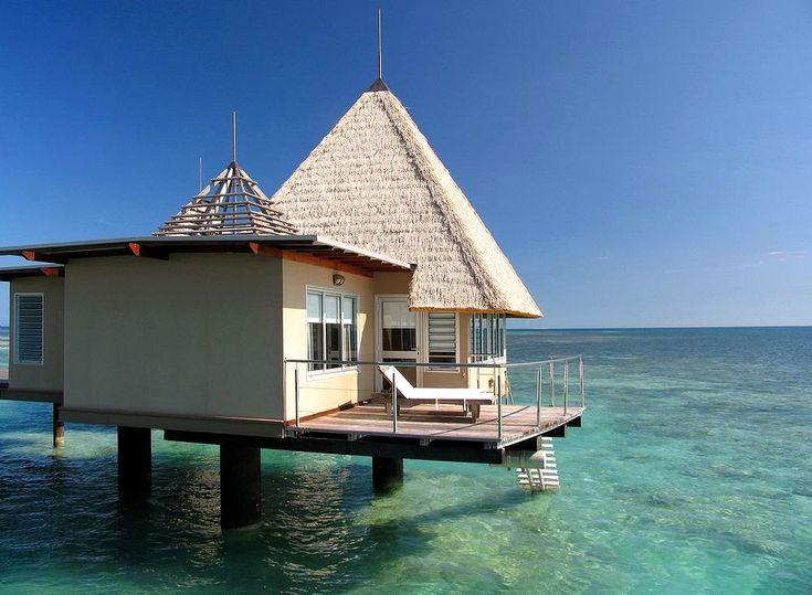 Over-Water Bungalow - L'Escapade Island Resort Noumea, New Caledonia.