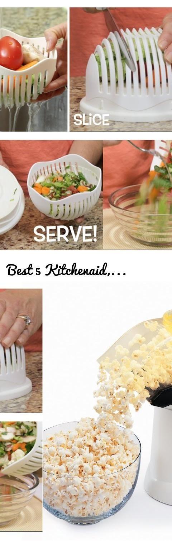 Best 5 Kitchenaid, Kitchen Appliances-Salad Golden Egg Popcorn Machine, Onion Slicer, Pizza Cutter.... Tags: salad maker, presto, air popper, popcorn air popper, popcorn maker, hot air popcorn maker, popcorn machine, orbi, golden egg, onion slicer, onion dicer, onion chopper, scizza, pizza scissors, pizza cutter, kitchen utensils, kitchen gadgets, cooking utensils, kitchenaid, kitchen, kitchenaid mixer, kitchen set, kitchen design, kitchen appliances, kitchen ideas, kitchenware, modern…