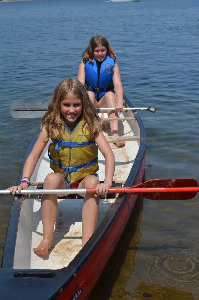 Canoeing at Camp Kitchi