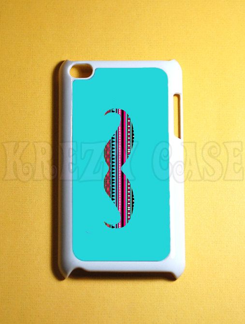 i pod touch 4 gen cases | Touch 4 Case Mustache with aztec ... Ipod Touch 4th Generation Cases For Girls