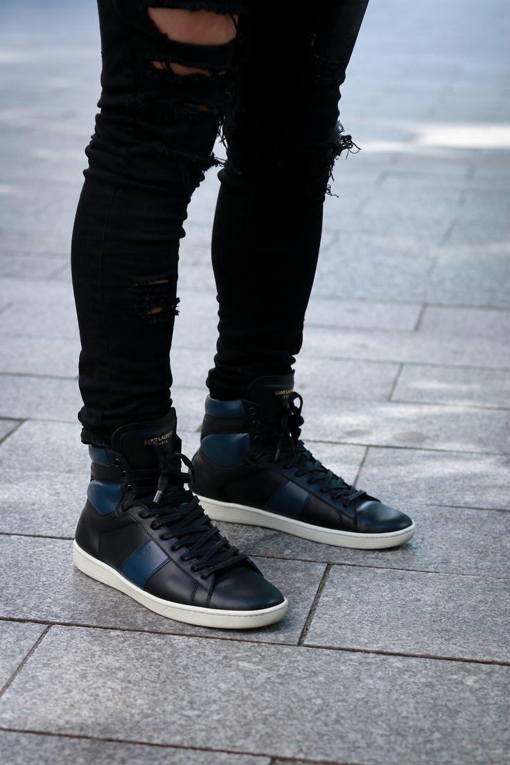 40 Best Ysl Kicks Images On Pinterest Men Fashion
