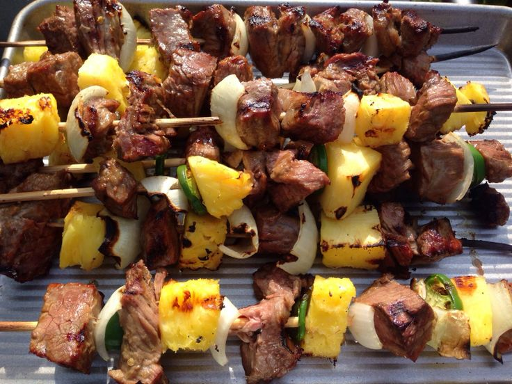 Asian Marinated Steak Kabobs #paleo | Paleo Eating | Pinterest