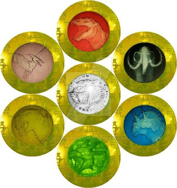 MMPR Ranger power coins
