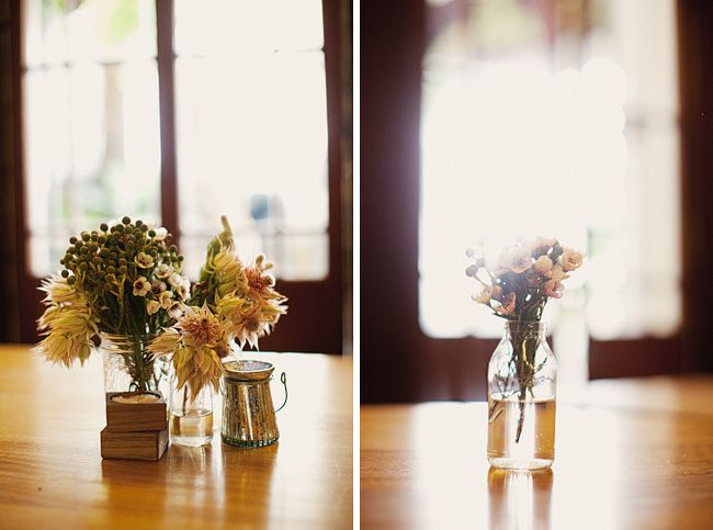 Oscar and Ruby table decorations at The Commons Wedding, Surry Hills