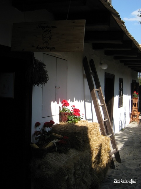 still life in hollókő, hungary