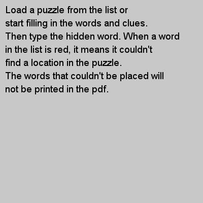 preview worksheet hidden word puzzle