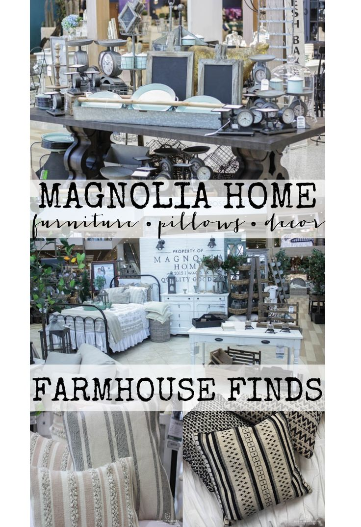 Check Out The Latest From The Magnolia Home Line And See Tons Of Amazing  Farmhouse Finds
