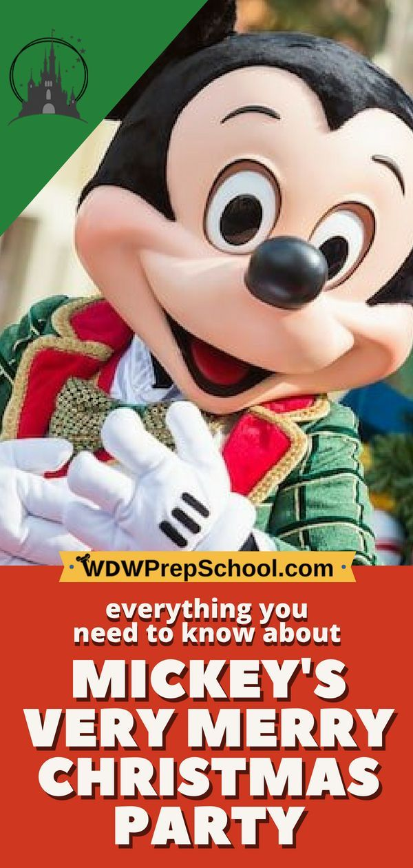 Guide to Mickey\u0027s Very Merry Christmas Party for 2018 Best of WDW