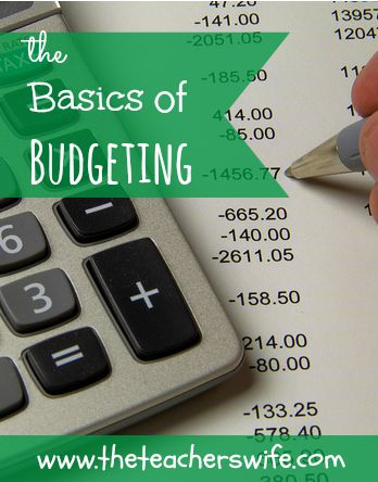 THE BASICS OF BUDGETING.  Have you ever gotten to the end of the month and had no idea where all your money went?  Creating a monthly budget is a necessity in our household and helps us to ensure we live within our means.  Here are some of the budgeting basics if you are looking to get started!