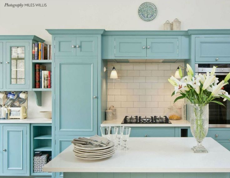 Eclectic Style Kitchen From House And Garden UK