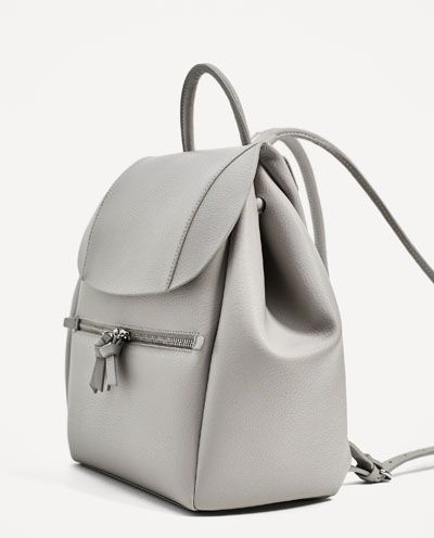 Image 5 of BACKPACK WITH ZIP from Zara